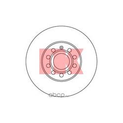 Диск тормозной пер. вент.NK (Nk) 204788