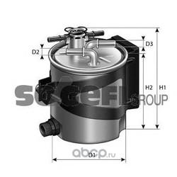 Топливный фильтр (PURFLUX) FCS740