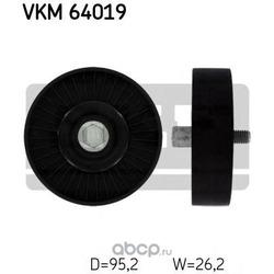 Паразитный / ведущий ролик, поликлиновой ремень (Skf) VKM64019