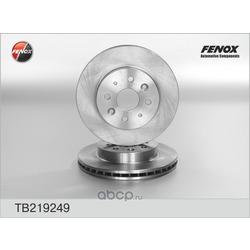 ДИСК ТОРМОЗНОЙ FENOX (FENOX) TB219249