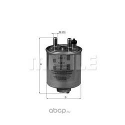 Топливный фильтр (Mahle/Knecht) KL638