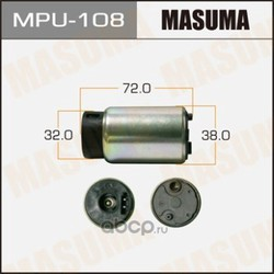 Насос топливный (Masuma) MPU108