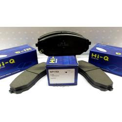 Колодки тормозные передние (Hyundai-KIA) 581013EE00
