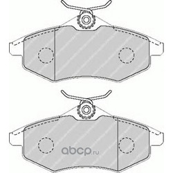Комплект тормозных колодок, дисковый тормоз (Ferodo) FDB1542