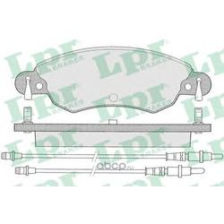 Комплект тормозных колодок, дисковый тормоз (Lpr) 05P792