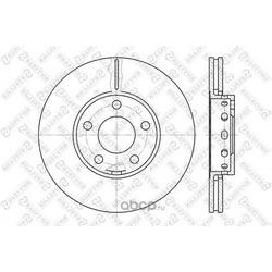 Тормозной диск (Stellox) 60204743VSX