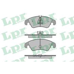Комплект тормозных колодок, дисковый тормоз (Lpr) 05P1420