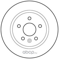 Тормозной диск (Jurid) 562651JC