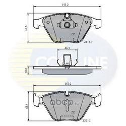 Комплект тормозных колодок, дисковый тормоз (Comline) CBP02100