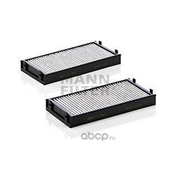 Фильтры салона комплект, угольные (MANN-FILTER) CUK29412