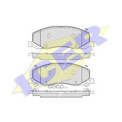 Колодки тормозные дисковые, комплект (Icer) 181927
