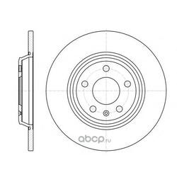 Тормозной диск (Remsa) 6111200
