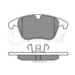 Комплект тормозных колодок, дисковый тормоз (Meyle) 0252412319