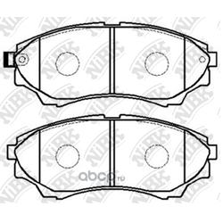 Колодки тормозные дисковые (NiBK) PN5800