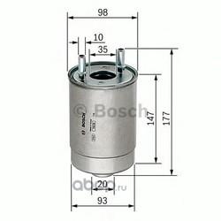 Топливный фильтр (Bosch) F026402067