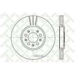 Тормозной диск (Stellox) 60204760VSX
