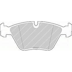 Комплект тормозных колодок, дисковый тормоз (Ferodo) FDB577