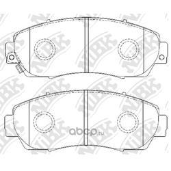 Колодки тормозные дисковые (NiBK) PN8802