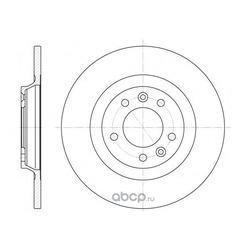 Тормозной диск (Remsa) 669000