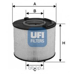 Топливный фильтр (UFI) 2601500