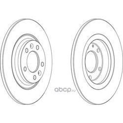 Тормозной диск (Ferodo) DDF1275