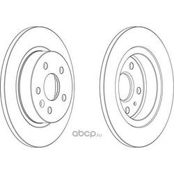 Тормозной диск (Ferodo) DDF1872