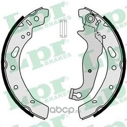 Комплект тормозных колодок (Lpr) 09300