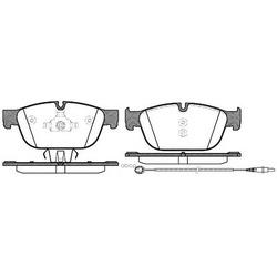 Комплект тормозных колодок, дисковый тормоз (Remsa) 145101