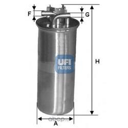 Топливный фильтр (UFI) 2400100