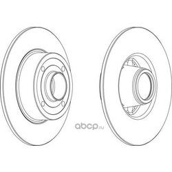 Тормозной диск (Ferodo) DDF1369