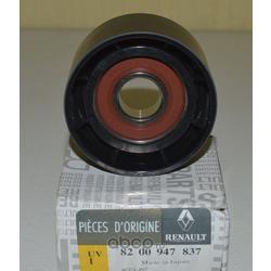 Паразитный / ведущий ролик, поликлиновой ремень (RENAULT) 8200947837