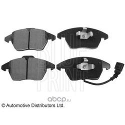 Колодки тормозные дисковые передние, комплект (Blue Print) ADV184204