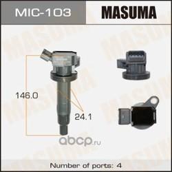 Катушка зажигания (Masuma) MIC103
