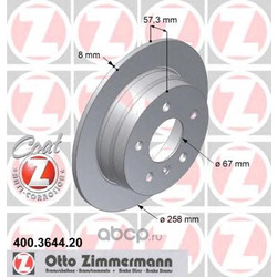 Тормозной диск (Zimmermann) 400364420