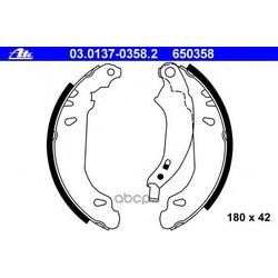 Колодки тормозные барабанные, комплект (Ate) 03013703582