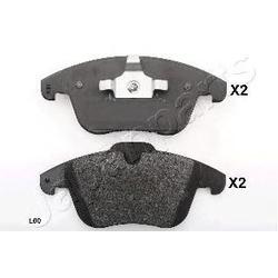 Комплект тормозных колодок, дисковый тормоз (Japanparts) PAL00AF