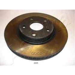 Диск тормозной передний вентилируемый (Ashika) 60022006