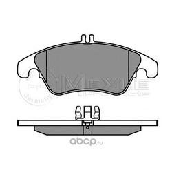 Комплект тормозных колодок, дисковый тормоз (Meyle) 0252431019