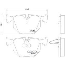 Комплект тормозных колодок, дисковый тормоз (Mintex) MDB2534