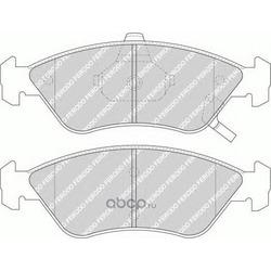 Комплект тормозных колодок, дисковый тормоз (Ferodo) FDB1125