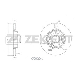 Тормозные диски (Hyundai-KIA) 517123K160
