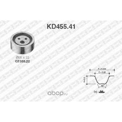 Комплект ремня ГРМ (NTN-SNR) KD45541