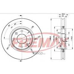 Тормозной диск (FREMAX) BD4752