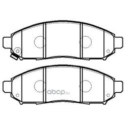 Колодки тормозные дисковые (FIT) FP1094