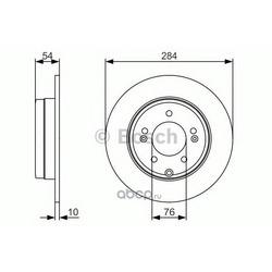 Тормозной диск (Bosch) 0986479A45