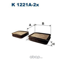 Фильтр салонный Filtron (Filtron) K1221A2X
