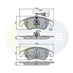Комплект тормозных колодок, дисковый тормоз (Comline) CBP21789