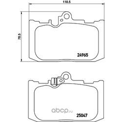 Комплект тормозных колодок, дисковый тормоз (Hella) 8DB355019851