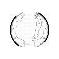 Комплект тормозных колодок (Metelli) 530050