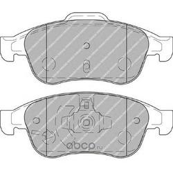 """Колодки тормозные дисковые передние, комплект """"Premier (Ferodo) FDB4180"""